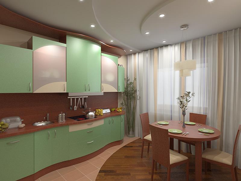 Дизайн кухни 15 м.кв