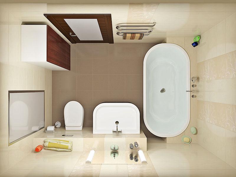 Ремонт ванной комнаты дизайн проект