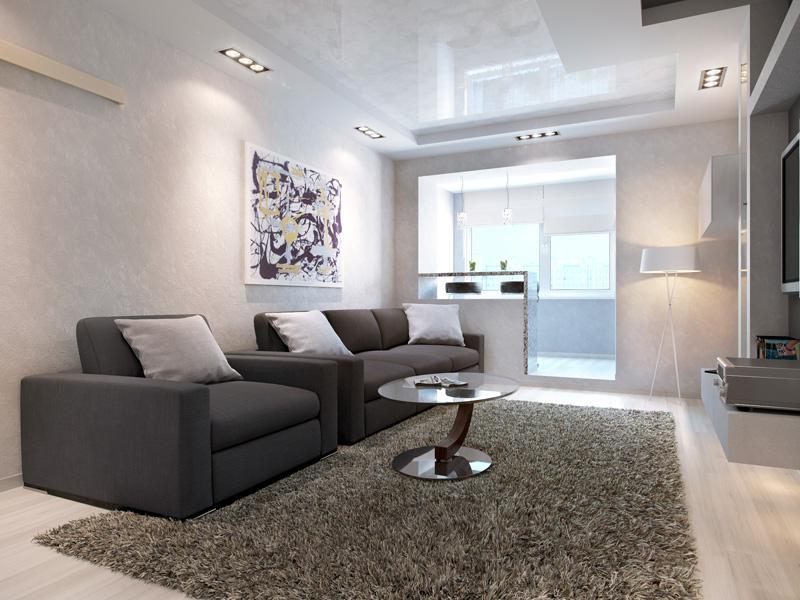 Фото дизайн квартиры хайтек