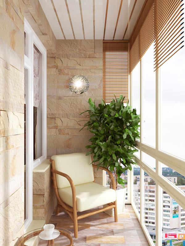 Как обустроить балкон в квартире.