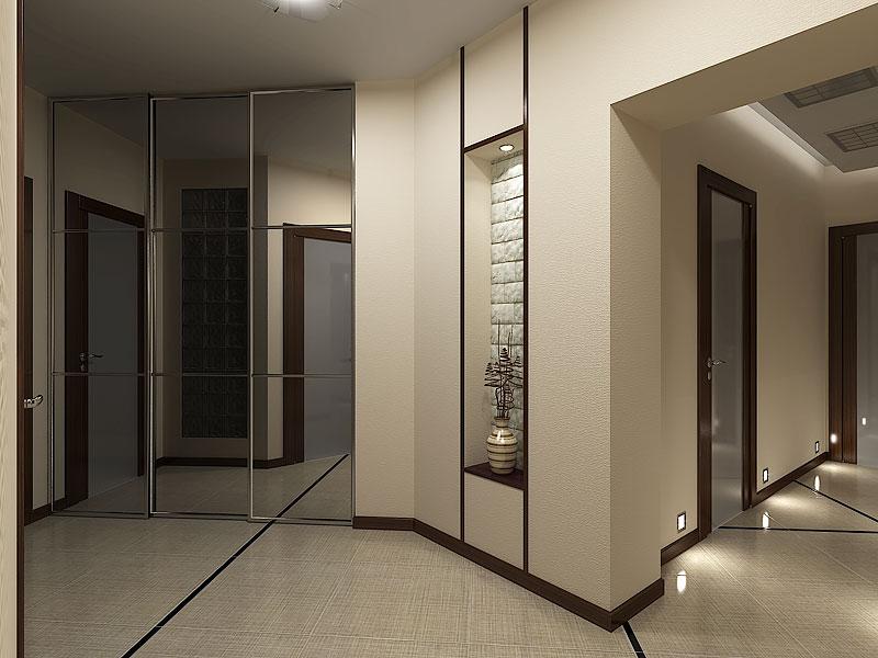 Каким цветом покрасить коридор фото