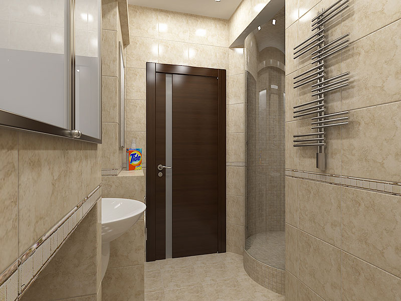 Дверь в ванную комнату фото