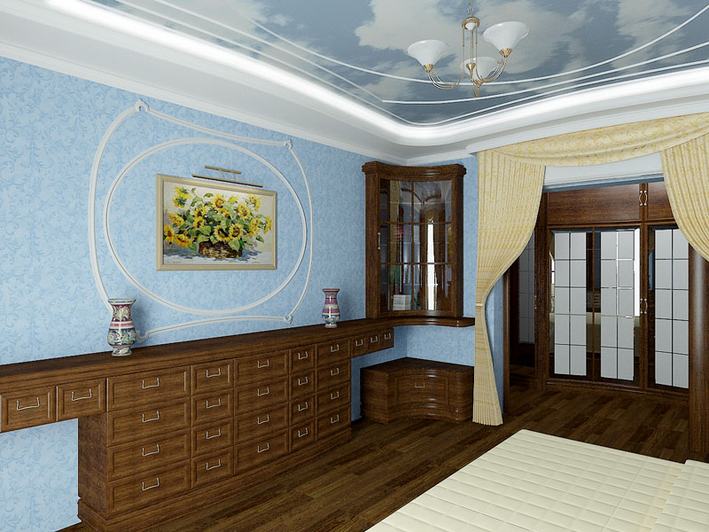 Дизайн спальни от Артема Лазарева