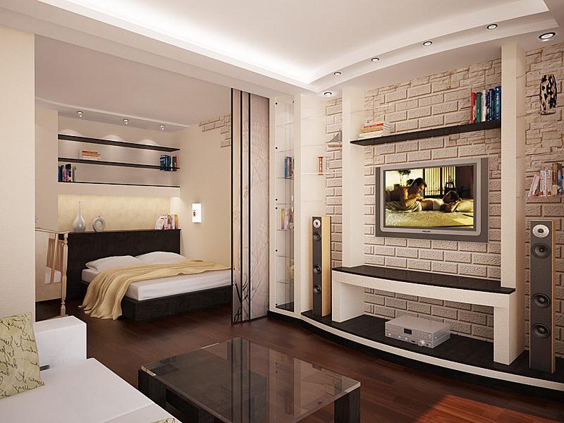Квартира-студия идеи дизайна