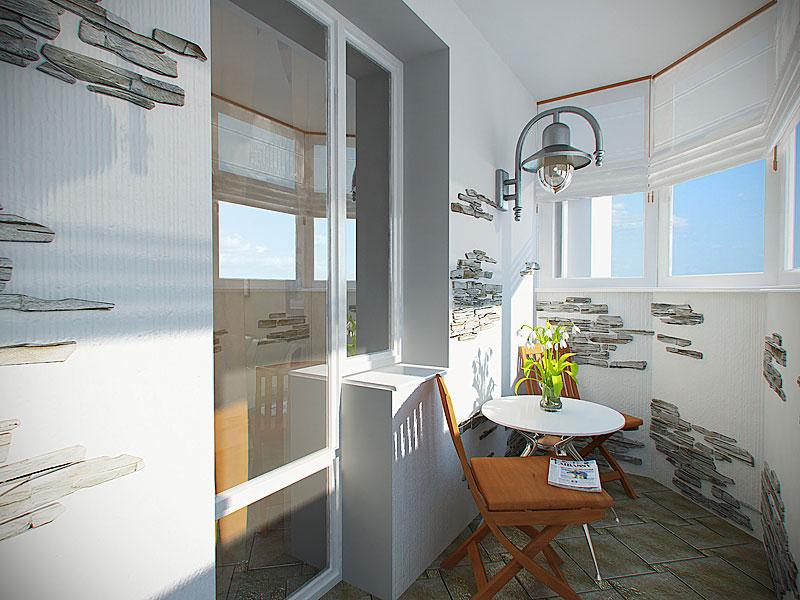 Красивый дизайн балкона в фото примерах, идеи для оригинальн.